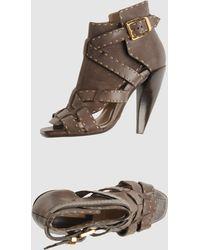 Michael Kors High-Heeled Sandals - Lyst