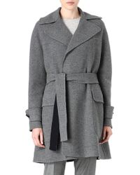 Mulberry Blanket Wrap Coat - Lyst