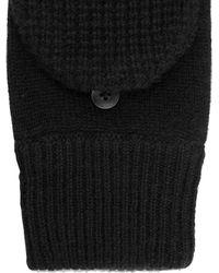 Rag & Bone Cashmere Waffle Cap Gloves - Lyst