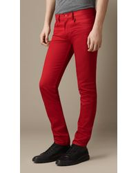 Burberry Shoreditch Piecedyed Skinny Fit Jeans - Lyst