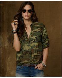 Denim & Supply Ralph Lauren - Longsleeve Buttondown Printed Shirt - Lyst