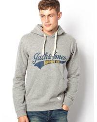 Love Bullets - Jack Jones Hooded Sweatshirt - Lyst