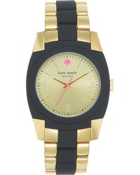 Kate Spade Skyline Goldplated Metal and Polycarbonate Watch Mixed - Lyst