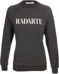 Rodarte Radarte Sweatshirt - Lyst
