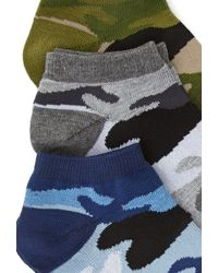 Forever 21 - Camo Ankle Sock Set - Lyst