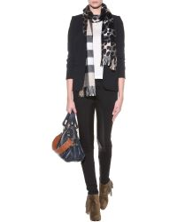 Burberry Brit - Printed Cashmere Scarf - Lyst