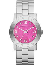 Marc By Marc Jacobs Amy Stainless Steel Bracelet Watch 36mm - Lyst