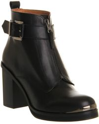 Office Boy Front Zip Ankle Boots - Lyst
