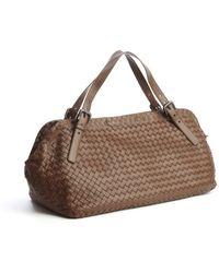 Bottega Veneta Brown Intrecciato Leather Hobo - Lyst