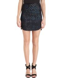 Cynthia Rowley A-line Dotted Skirt - Lyst