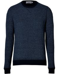Vince Wool-Cashmere Crewneck Pullover In Coastal Blue - Lyst