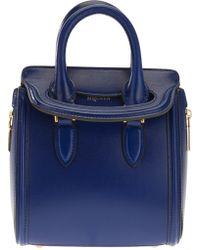 Alexander McQueen Heroine Mini Handbag - Lyst