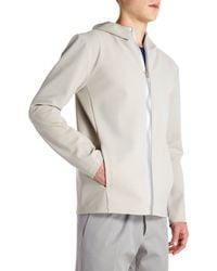 Jil Sander Zip Front Tech Jacket - Lyst