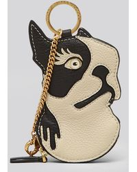 Marc By Marc Jacobs Pouch Olive Bulldog Zip - Lyst