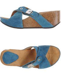 Scholl Wedge - Blue