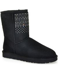 Ugg Classic Short Bling Sheepskin Boot - Lyst