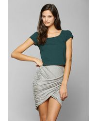 Sparkle & Fade - Crossover Mini Skirt - Lyst