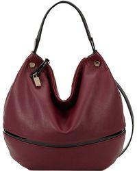 Furla Montmartre Cervo Patent Leather Hobo Bag - Lyst