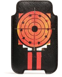 Givenchy Dart Print Iphone 44s Holder - Lyst