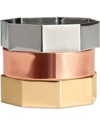 H&M 3pack Bracelets - Metallic