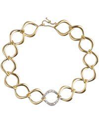 Jamie Wolf - Aladdin Large Link Bracelet With Diamonds - Lyst
