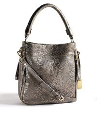 Kenneth Cole - Square Biz Leather Hobo Bag - Lyst
