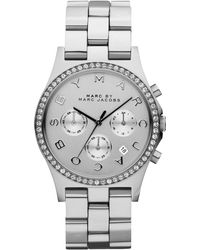 Marc By Marc Jacobs 40mm Henry Chronograph Watch - Grey