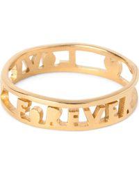 Tatty Devine - Forever Love Ring - Lyst