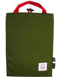 ASOS Topo Designs 13 Inch Laptop Sleeve - Green