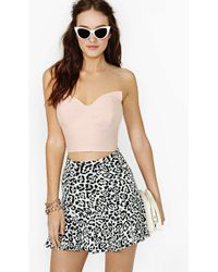 Nasty Gal Sharp Angle Bustier pink - Lyst