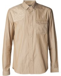 ec2c823e White Mountaineering - Quilted Shoulder Shirt - Lyst