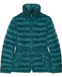 Burberry Brit - Quilted Down Coat - Lyst