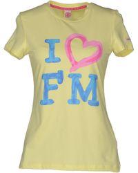 Fred Mello T-shirt - Yellow