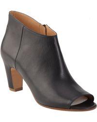 Maison Margiela Short Peep Toe Ankle Boot - Lyst