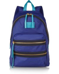 Marc By Marc Jacobs - Leathertrimmed Canvas Backpack - Lyst