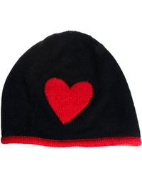 Boutique Moschino Heart Beanie - Red