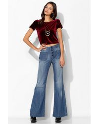 Urban Outfitters Bdg Patchpocket Wideleg Sailor Jean - Lyst