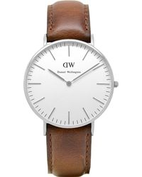 Daniel Wellington 0607Dw Classic St Andrews Ladies Watch - For Women silver - Lyst