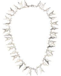Eddie Borgo - Twotone Fractured Heart Collar Necklace - Lyst