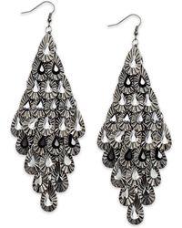 Material Girl - earrings - Lyst