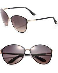 Tom Ford Penelope Oversized Sunglasses - Lyst