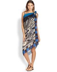 Gottex Maasai Silk Pareo - Lyst
