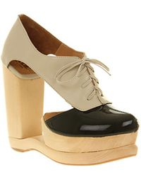 Jeffrey Campbell Benched Lace Up - Black