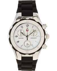 Michele Tahitian Jelly Bean Chronograph Black Watch