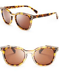 Rebecca Minkoff Chelsea Wayfarer Sunglasses - Brown