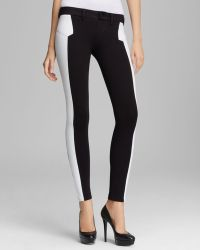 Sold Design Lab - Leggings Perforated Faux Leather Skinny - Lyst