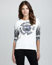 StyleStalker - Welcome To The Jungle Tee - Lyst