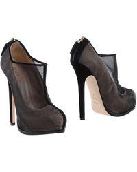 Fendi Shoe Boots - Lyst