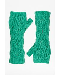 French Connection - Tabitha Knitted Arm Warmers - Lyst