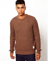 Gloverall - Bellfield Fisherman Sweater - Lyst